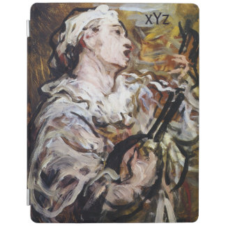 Daumier's Pierrot custom monogram device covers iPad Cover