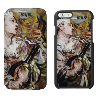 Daumier's Pierrot custom monogram wallet cases Incipio Watson™ iPhone 6 Wallet Case