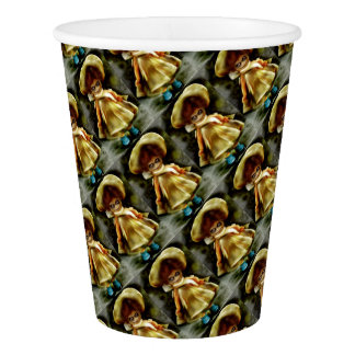 Daunting Dora Dolly Products Paper Cup
