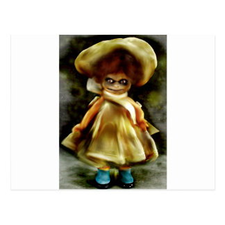 Daunting Dora Dolly Products Postcard