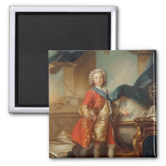 Dauphin Charles-Louis  of France Square Magnet