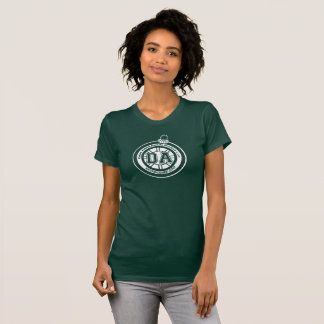 Dave Ahern Annual Holiday Cup Tee Women's Dk Green