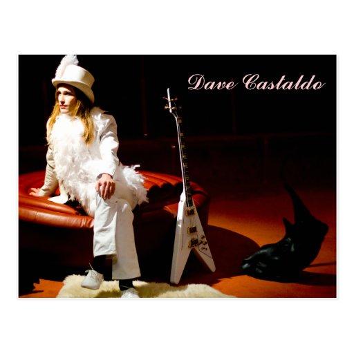 Dave Castaldo Poster Post Card