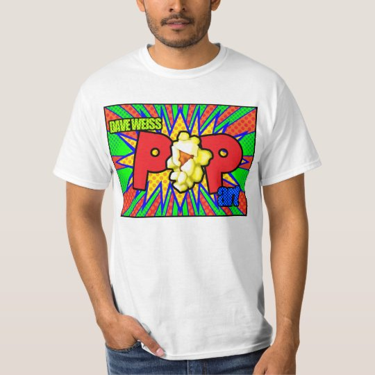 Dave Weiss Pop Art T-Shirt
