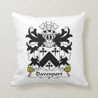 Davenport Family Crest Cushion