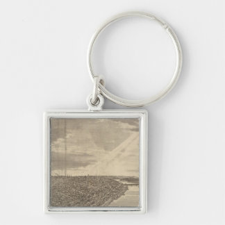 Davenport, Iowa, as seen from south west Key Ring