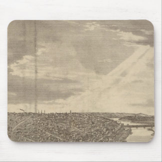 Davenport, Iowa, as seen from south west Mouse Mat