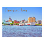 Davenport, Iowa, U.S.A. Post Card