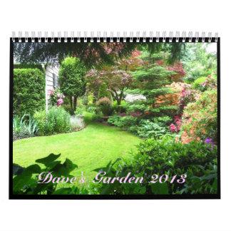 Dave's Garden 2013 Calendar
