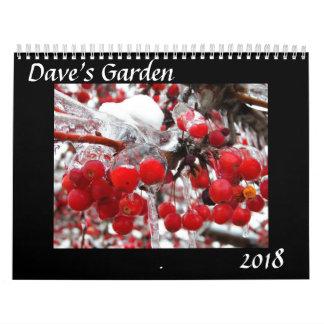 Dave's Garden 2018 Calendar