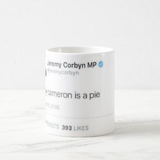 Davey Cameron Is A Pie Basic White Mug