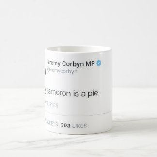 Davey Cameron Is A Pie Coffee Mug