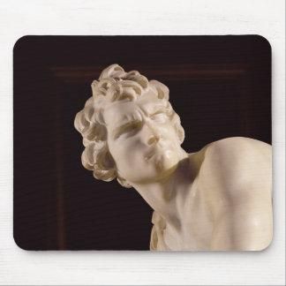 David, 1623-24 (marble) (detail) mouse mat