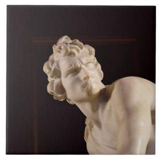 David, 1623-24 (marble) (detail) tile