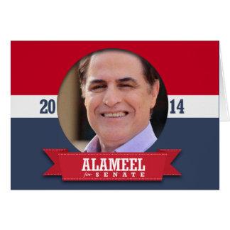 DAVID ALAMEEL CAMPAIGN CARDS