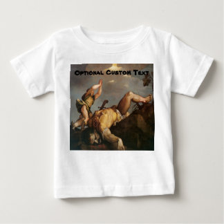 David and Goliath Baby T-Shirt