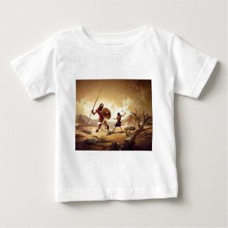 David and Goliath Baby T-Shirt