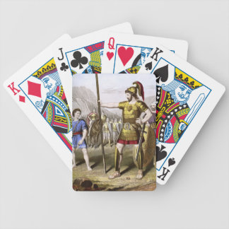 David and Goliath Bicycle Playing Cards