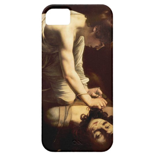 David and Goliath - Caravaggio c.1610 iPhone 5 Cases