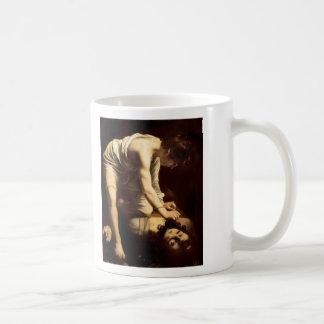 David and Goliath - Caravaggio c.1610 Coffee Mugs