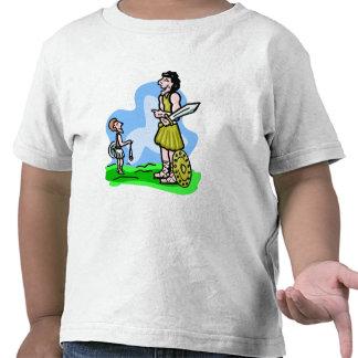 David and Goliath Christian artwork Tshirt