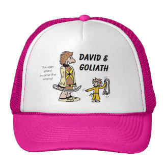 David and Goliath Hats