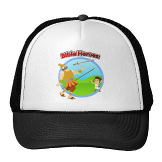 David and Goliath Trucker Hats