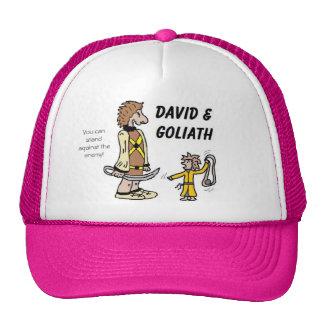 David and Goliath Hats