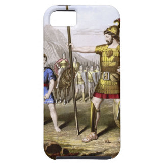 David and Goliath iPhone 5 Cover