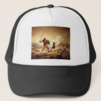 David and Goliath Trucker Hat