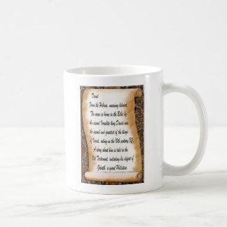 David Basic White Mug