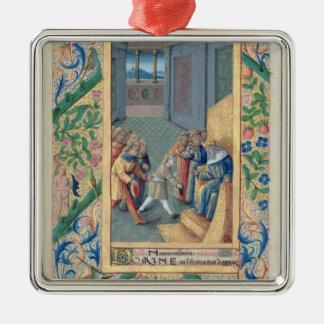 David being sent to Saul Christmas Ornament