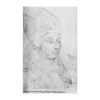 David, bishop of Utrecht Canvas Print