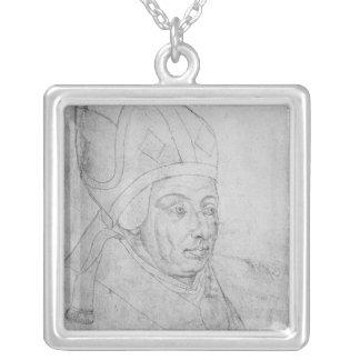 David, bishop of Utrecht Silver Plated Necklace