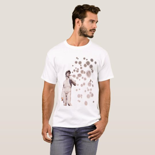 David Blowing Bubbles T-Shirt