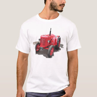 David Brown Classic Tractor Vintage Hiking Duck T-Shirt