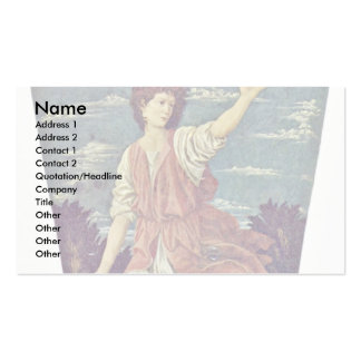 David By Andrea Del Castagno Double-Sided Standard Business Cards (Pack Of 100)