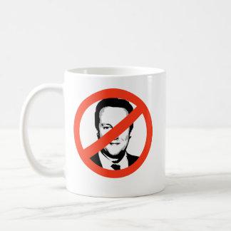 David Cameron Basic White Mug