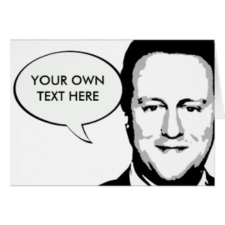 David Cameron Card
