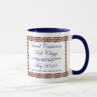 David Cameron ~ Nick Clegg ~ Coalition Mug