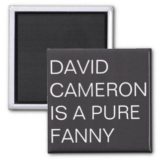 David Cameron Square Magnet