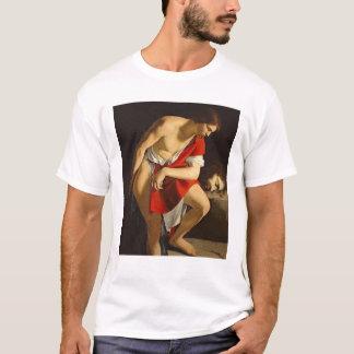 David contemplating the head of Goliath T-Shirt
