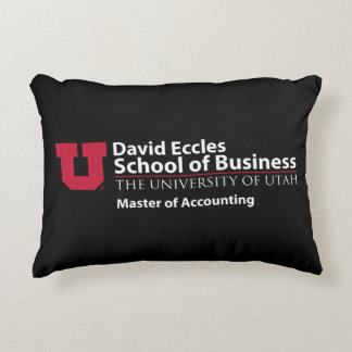 David Eccles - Master of Accounting Decorative Cushion