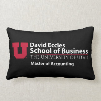 David Eccles - Master of Accounting Lumbar Cushion
