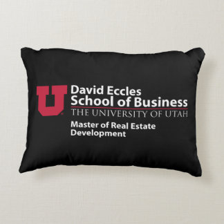 David Eccles - Master of Real Estate Development Decorative Cushion
