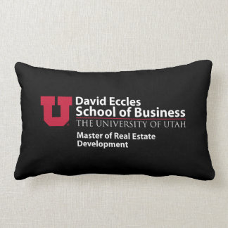 David Eccles - Master of Real Estate Development Lumbar Cushion