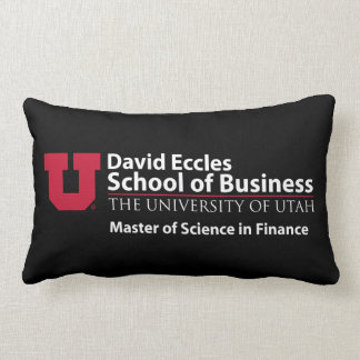 David Eccles - Master of Science in Finance Lumbar Cushion
