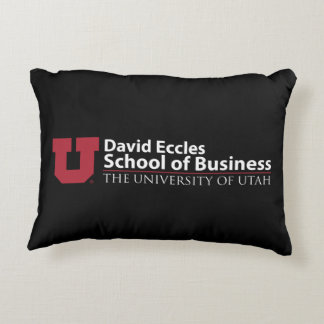 David Eccles School of Business Decorative Cushion