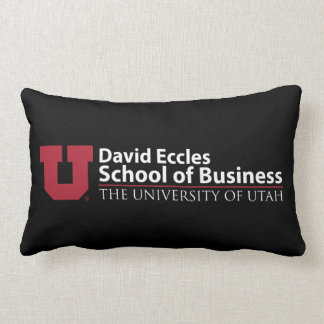David Eccles School of Business Lumbar Cushion