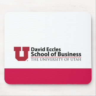 David Eccles School of Business Mouse Pad
